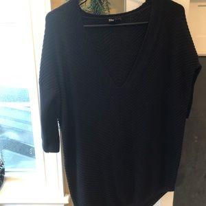 Black Express Knit Sweater